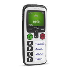 "Secure 580 Bianco Impermeabile Display 1.8"" Bluetooth + 3G GPS - Europa"