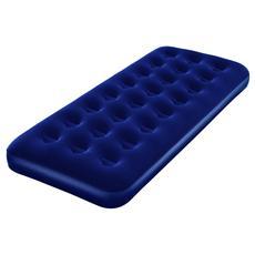 Materassino Airbed Blu Floccato Singolo 185x76x22 cm