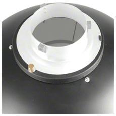 Riflettore Bellezza con Connessione Universale Grigia Alluminio 41 x 15 x 41 cm 15566