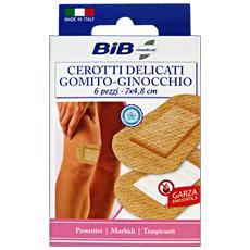 Cerotti Delicati Gomito / ginocchio X 6 Pezzi - Cerotti Bende E Garze