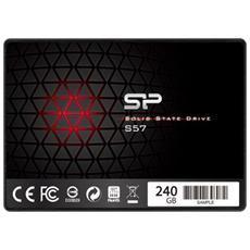 "SSD 240 GB S57 2.5"" Interfaccia Sata III 6 GB / s"