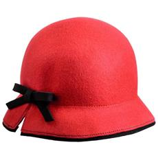Cappello Feltro Unica Rosa