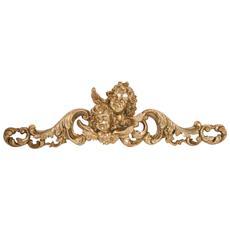 Fregio Decorativo Finitura Oro Anticato L50xpr5xh15 Cm