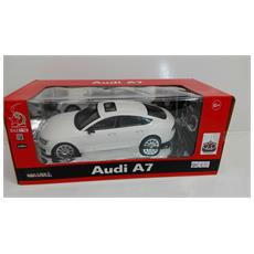 Auto 1:16 Audi A7 Modellismo Bianca Radiocomandata 27mhz
