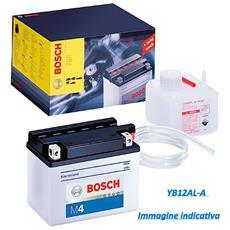 Batteria Moto Convenzionale Yb12al-a 12v - 12 Ah M4f30 Con Fiala Acido - 12gd 092m4f300