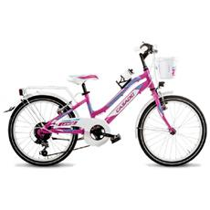 Mountain Bike Bambino Cicli Casadei 20 Lyncy 6v Alluminio
