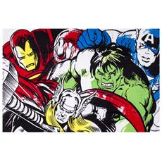 Comics Crop Coperta Di Pile (150cm X 100cm) (multicolore)