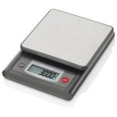 Bilancia da Cucina 3 kg Colore Grigio / Acciaio Inox