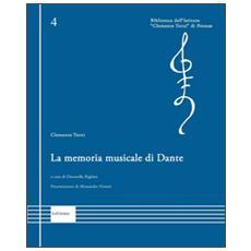 La memoria musicale di Dante