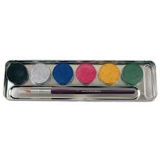 6 Colori Perlati Per Trucco Ed Effetti Fx 206072