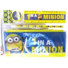 stationery set '' giallo blu (5 pezzi) - [ m4241]