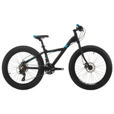 Fat Bike Cinzia Xx Fat 24 Alluminio Tx800 21 Velocita - Nero - Blu - Grigio