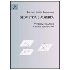 Geometria e algebra. Vettori, equazioni e curve elementari