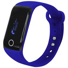 Smart Band Fitness Con Cardiofrequenzimetro Trevi Sf 230 Hr Blu