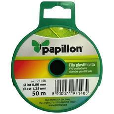 Filo Plasticato Bricolage 1,25mm 50mt Papillon - Cf. In Dispenser
