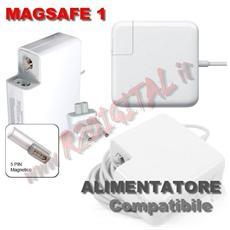 Alimentatore Compatibile Per Apple Macbook Magsafe1 60w 16.5v 3.65a Magsafe 1 Pro 13 ?15 Pollici Ma254ll / a Ma255ll / a Ma472ll / a Ma538ll / a Ma699ll / a Ma700ll / a Ma701ll / a Mb061ll / a Mb062ll / a Mb063ll / b Mb061ll / a Mb062ll / a A1184? 1181 A1185 A1278?