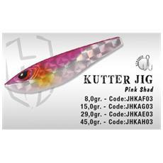 Herakles Kutter Jig 15gr Pink Shad