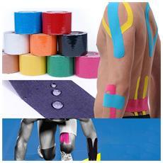 Rotolo Tape Kinesiologia Kinesio 5 Cm X 5 Metri Nastro Elastico Per Supporto Muscolare Sport Recupero Infortuni Colore Casuale