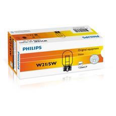 Sentiti al sicuro, guida con sicurezza. Lampade di segnalazione Philips. W21/5W, 21 W, 12 V.