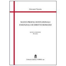 Nuovi profili essenziali di diritto romano