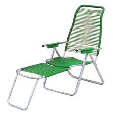 Sdraio cordonata schienale ergonomico colore verde