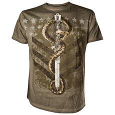 Alchemy - Venom Ranger Army Green (T-Shirt Unisex Tg. L)