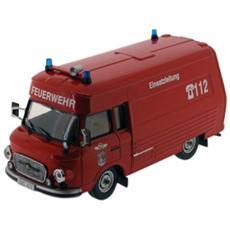 Ist169t Barkas B1000 Smh-3 Feuerwehr 1984 Salzwedel 1:43 Modellino