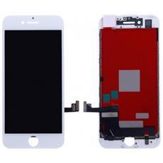 Ricambio Lcd Schermo Display + Touch Screen Unit Digitizer + Frame Bianco Per Apple Iphone 7 + Kit Attrezzi Smontaggio