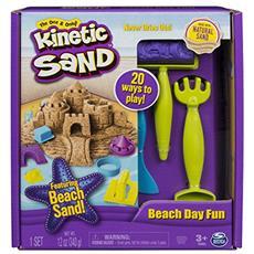 SPM6037424 Kinetic Sand - Set Spiaggia con Accessori