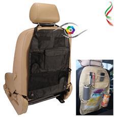 Organizer Sedile Porta Oggetti Auto 6 Tasche Multiuso Arrangement Bag Salvaspazio