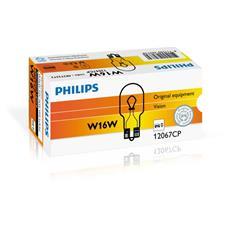 Sentiti al sicuro, guida con sicurezza. Lampade di segnalazione Philips. W16W, 16 W, 12 V.