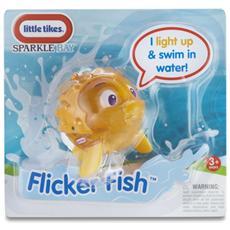 Sparkle Bay Flicker Fish - Puffer Fish, Bath animal, Ragazzo / Ragazza, Batteria, Giallo, Plastica, LR44