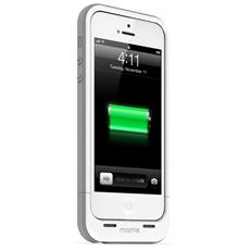 mophie juice pack plus per iPhone 5/5s - bianco