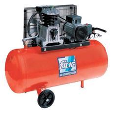 Compressore fiac da 50 lt per aria carrellato portatile 2 HP
