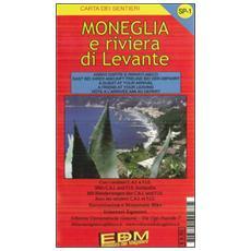 SP-1 Moneglia e Riviera di Levante. Carte dei sentieri di Liguria