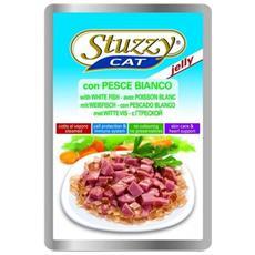2471 Stuzzy Gatto, Gelatina Pesce Bianco 100 Gr.