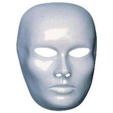 Maschera Viso Medio Bianca Da Pittura Box Cf12