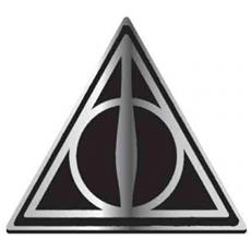 Harry Potter: Deathly Hallows (badge Smaltato)