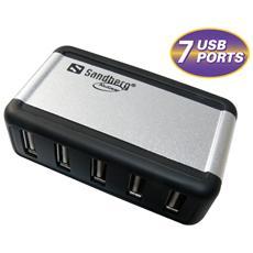 USB Hub AluGear (7 ports)