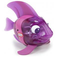 Sparkle Bay Flicker Fish Angel Fish, Bath animal, Ragazzo / Ragazza, Batteria, Porpora, Plastica, CE