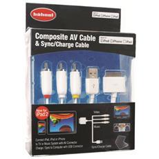 1000 644.0, RCA, USB, Maschio / maschio, iPod / iPhone / iPad / iPad 2