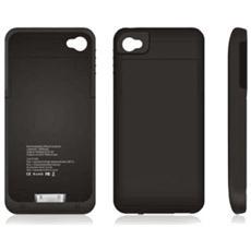 Custodia Cover Con Batteria Integrata 1900mah Per Iphone 4 4g 4s
