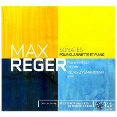 Reger, max - Sonate Per Clarinetto E Pianof