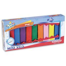 Strumenti musicali giocattolo55 0833 - Xilofono A 8 Piastrine / note Colorate