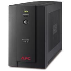 Gruppo di Continuità UPS 950VA / 480W Back-UPS 4 Prese Schuko / USB / RJ11 AVR VI