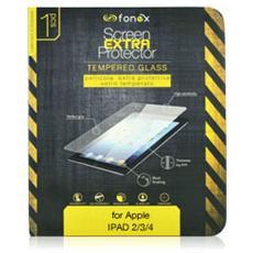 Protezione Schermo in Vetro Temperato per iPad 2/3/4 (1Pz)
