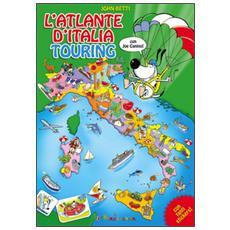 L'atlante d'Italia Touring con Joe Canino. Con adesivi