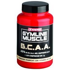 Amminoacidi Gymline Muscle B. c. a. a. 120 Compresse Unica