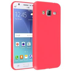 Cover Galaxy J3 Soft Touch Silicone Gel Morbido - Rossa