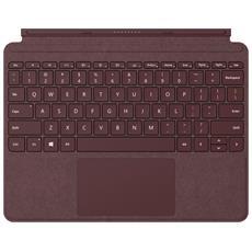MICROSOFT - Surface Go Type Cover in alcantara colore bordeaux